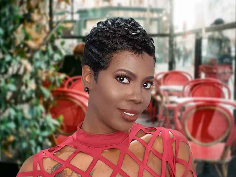 Short Pixie Cut for Black Women