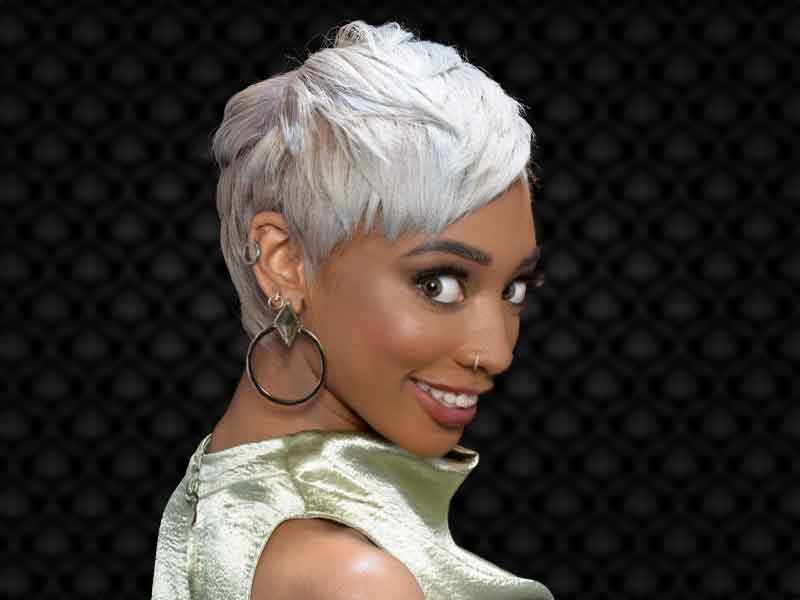 Secrets To a Stunning Platinum Blonde Short Hairstyle for Black Women
