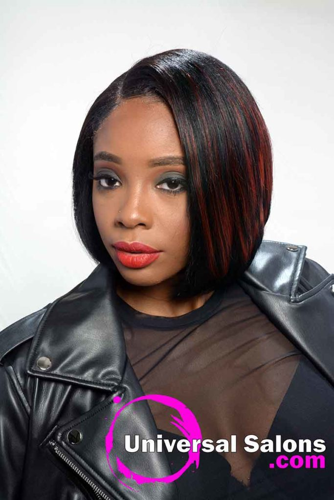 Short Quick Weave Bob Hairstyle