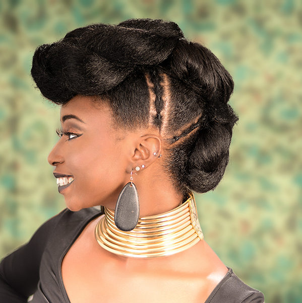 Tripple Ponytail Updo Hairstyle From Deirdre Clay in Fayetteville, NC