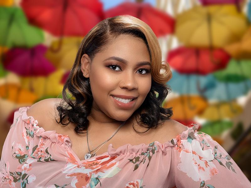 Honey Blonde Custom Hair Color for Black Women